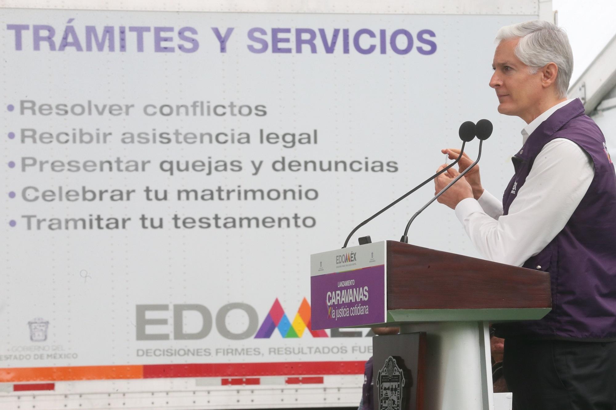 Lanza Alfredo Del Mazo Programa De Caravanas Para Realizar