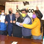 Acuerdan PAN, PRI y PRD candidaturas para diputaciones y ayuntamientos del Estado de México; van en coalición