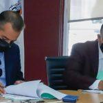 Ariel Juárez y Herminio Cahue firman convenio en beneficio de trabajadores del SUTEYM en Cuautitlán