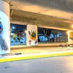 Jóvenes aprovechan espacios públicos en Cuautitlán para plasmar murales artísticos