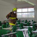 Arranca programa de sanitización de escuelas públicas en Cuautitlán