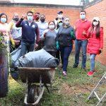 Apoya Paco Rojas a escuelas izcallenses con jornadas de limpieza y mantenimiento
